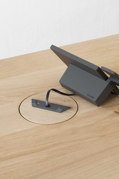 Siedle Axiom e15 Wire Management Stylepark
