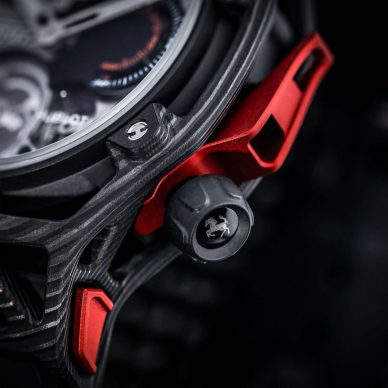 Hublot Techframe watch Ferrari-Tourbillon Chronograph Carbon