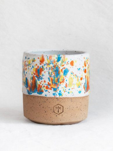 Sprinkles Speckled Small Mug white