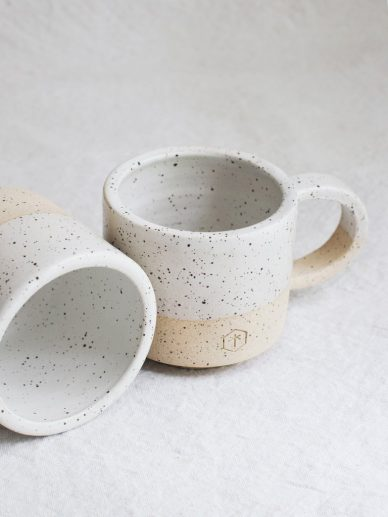Sprinkles Speckled Small Mug white with handle