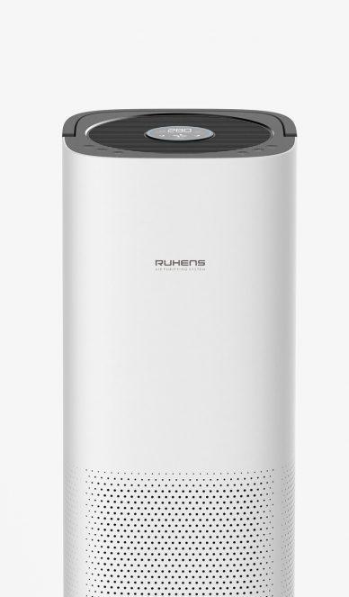 white ruthens portable speaker