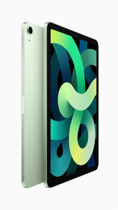 apple new ipad air green