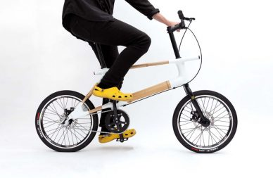 bamboo urban mini velo