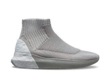 brand khk shoes with wave water texture