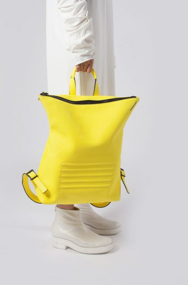 brockley yellow backpack bagology