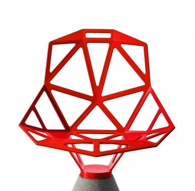 chair one concrete base konstantin grcic magis