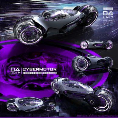 denni5 d5 CYBERMOTOR CONCEPT :UNIT 04