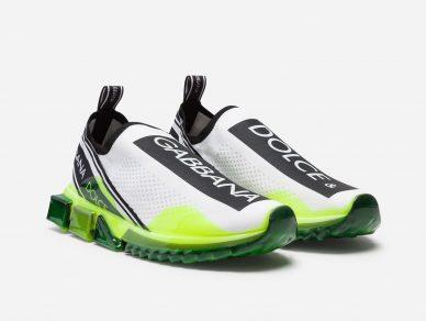 dolce gabbana sorrento melt sneakers