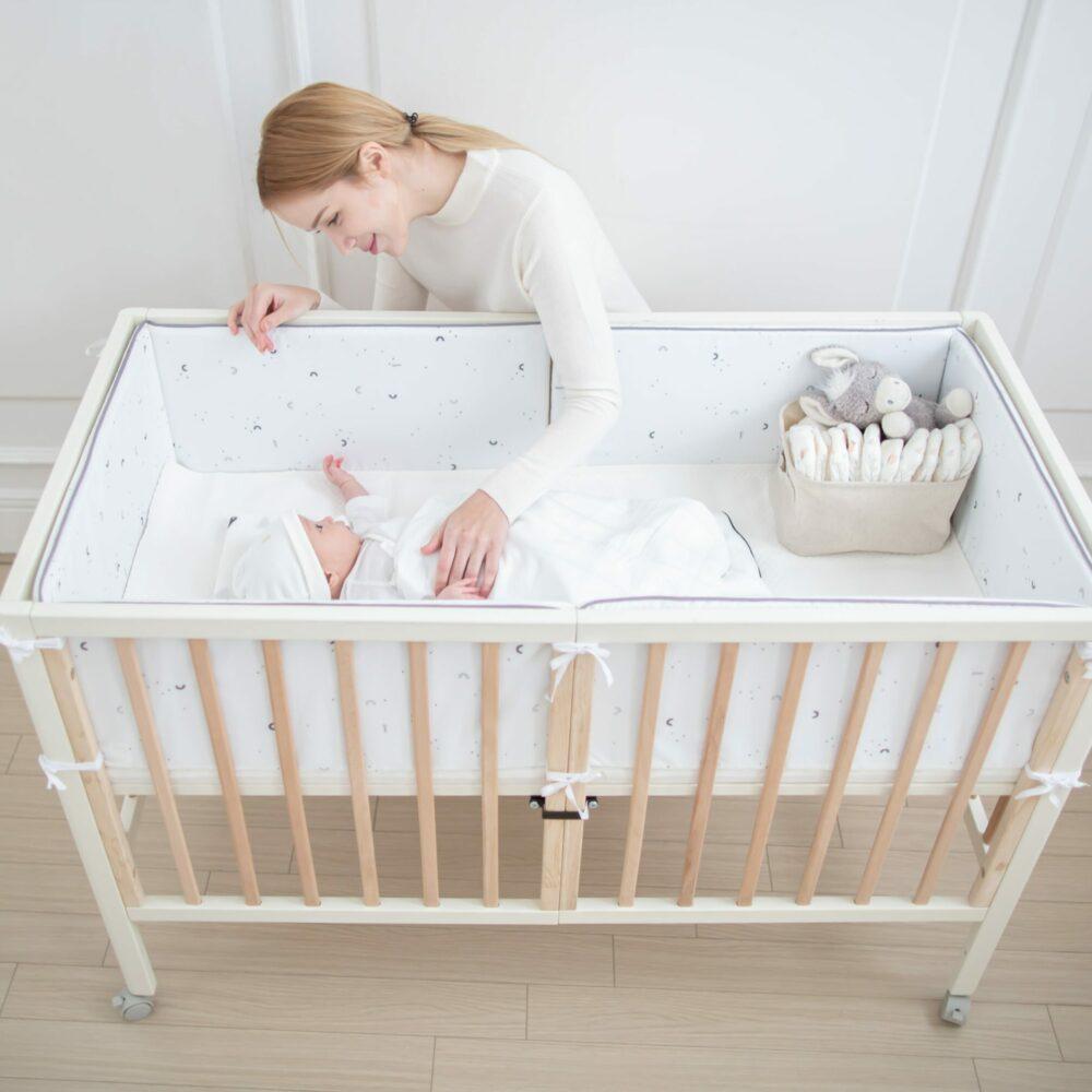 Bronze - Children's - All Star Wood Cot Bed_01