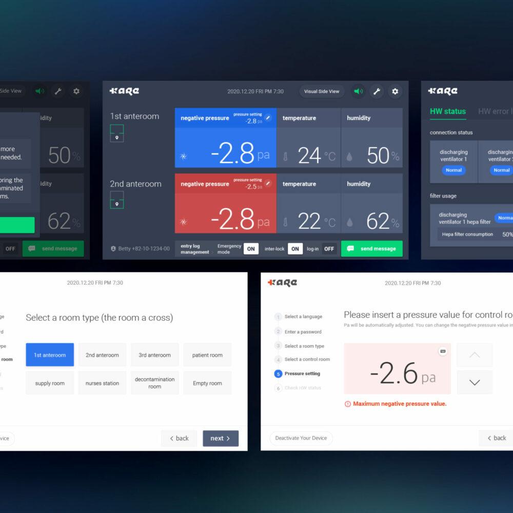 Bronze - Digital Interaction - Mobile Clinic Module Control UI-UX