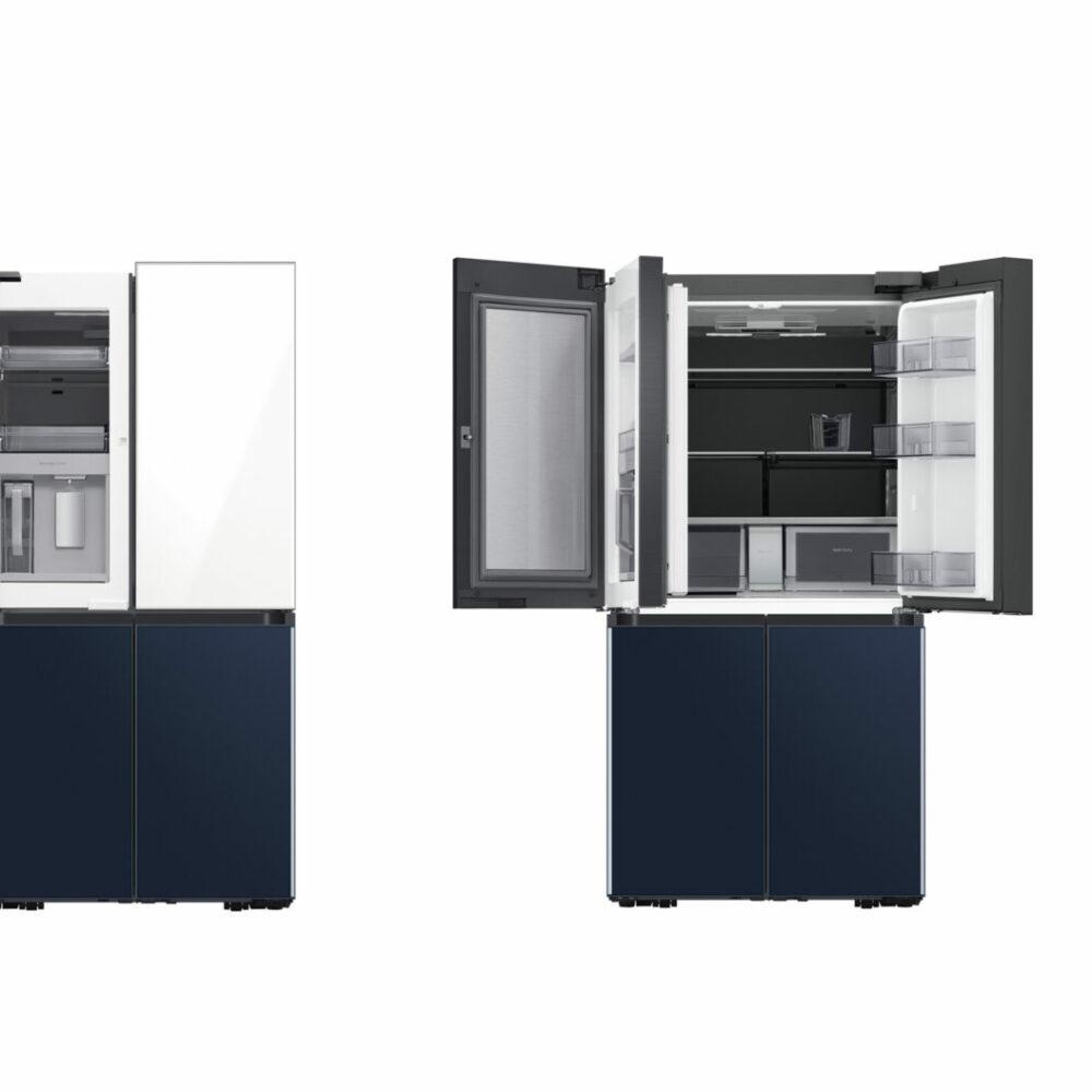 Bronze - Home - BESPOKE 4-Door Flex Refrigerator