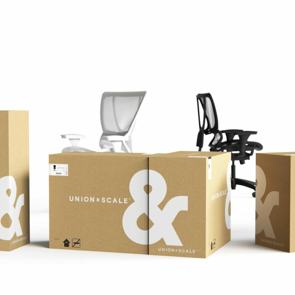 Bronze - Packaging - Union & Scale Workplace Furnishings Packaging System_01