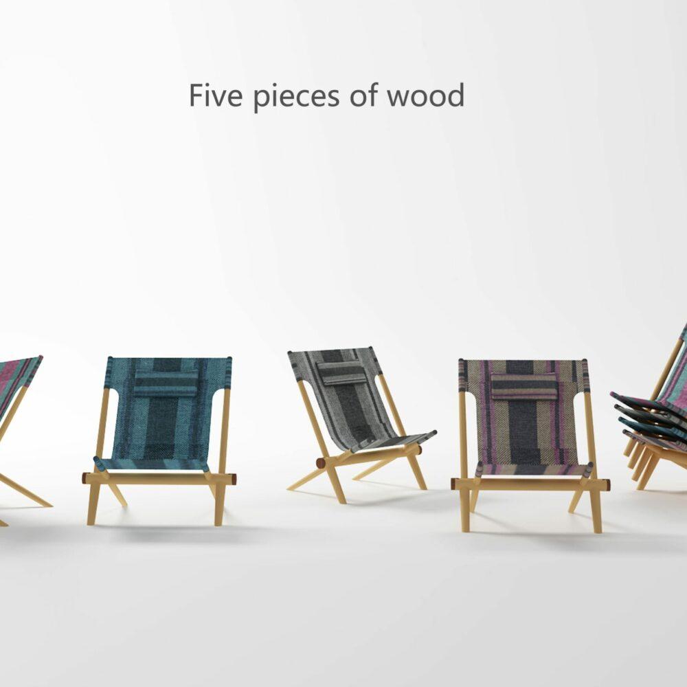 Bronze - Student - Five pieces of wood_01