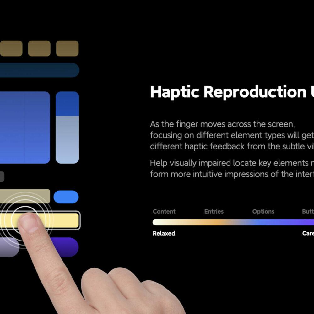 Gold - Digital Interaction - Haptic