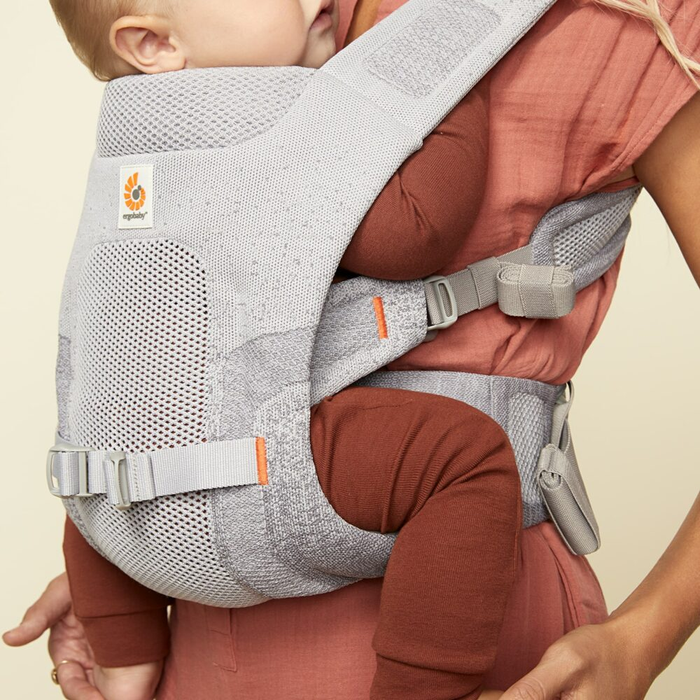 Silver - Children's - Ergobaby Aerloom FormaKnit Stretch Baby Carrier_01