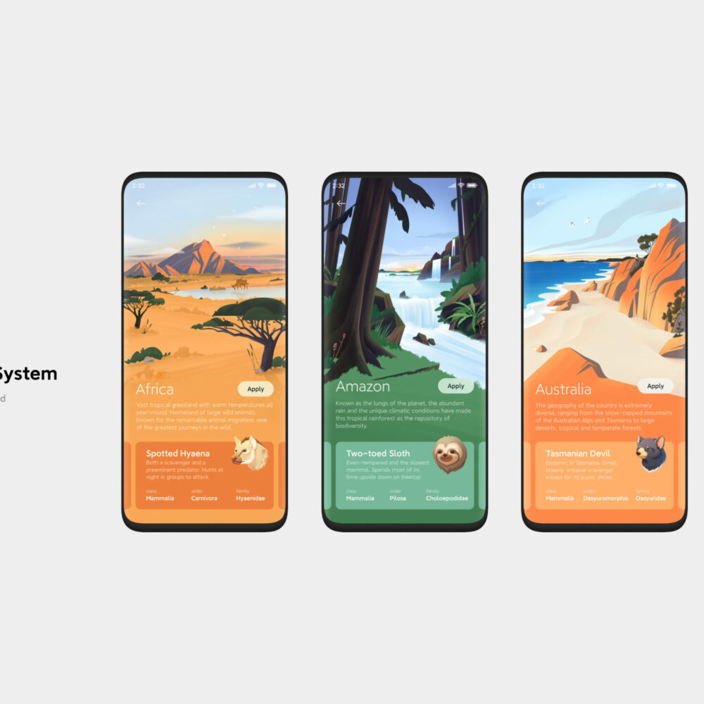 Silver - Digital Interaction - MIUI Nature Sound System