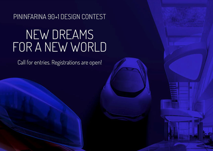 Design contest PININFARINA 90+1 DESIGN CONTEST - NEW DREAMS FOR A NEW WORLD