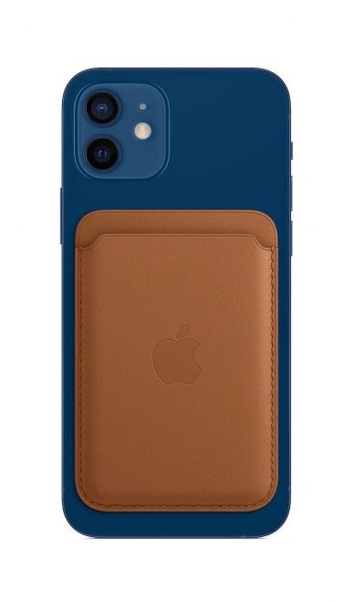 iPhone Leather Wallet with MagSafe - Saddle Brown leManoosh Industrial design Blog