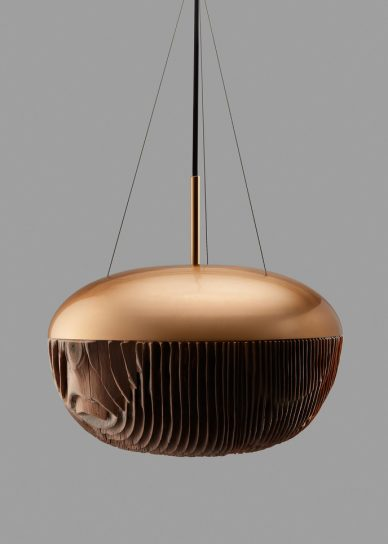 kelly kim mokume wood lamp