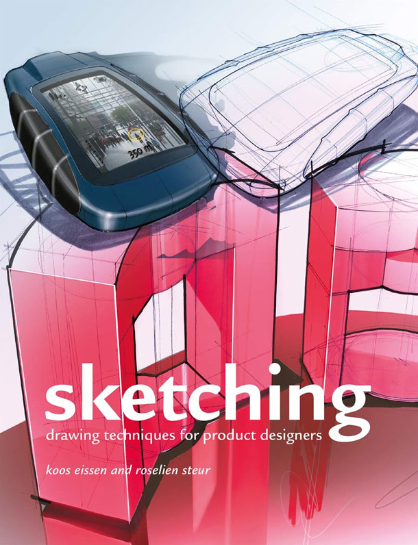 leManoosh Design books sketching drawing techniques for product designers