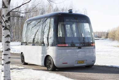 muji gacha self driving bus