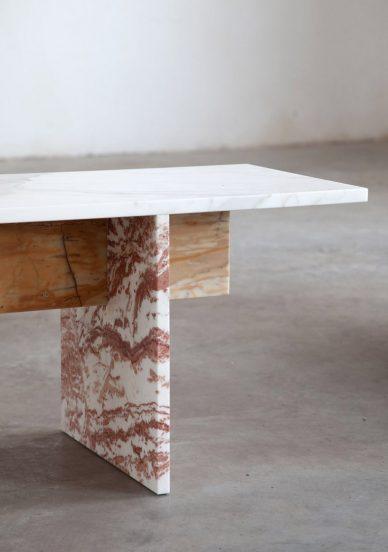 muller van severen marble bench