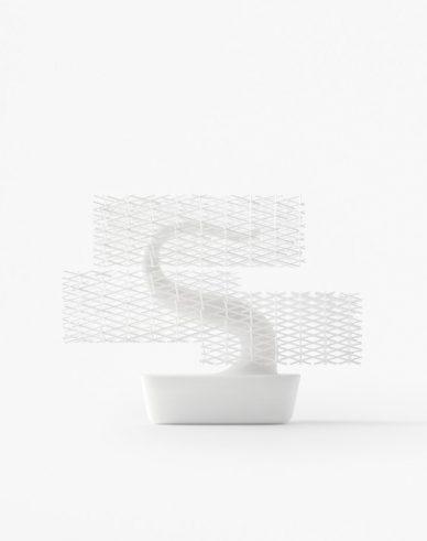 nendo design grid bonsai gucki