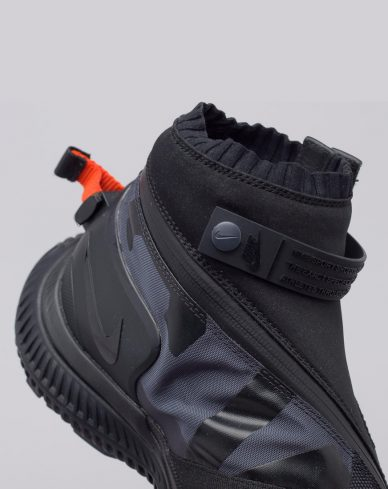 nike Acg Gaiter Boot In Black