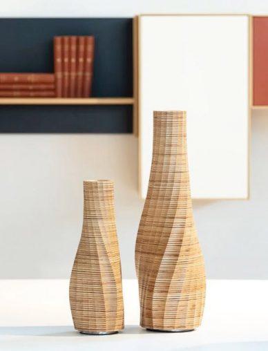 odk design wood vase
