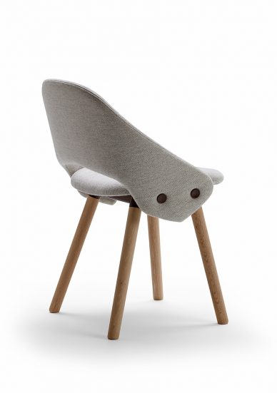 offecct gray tailor chair back