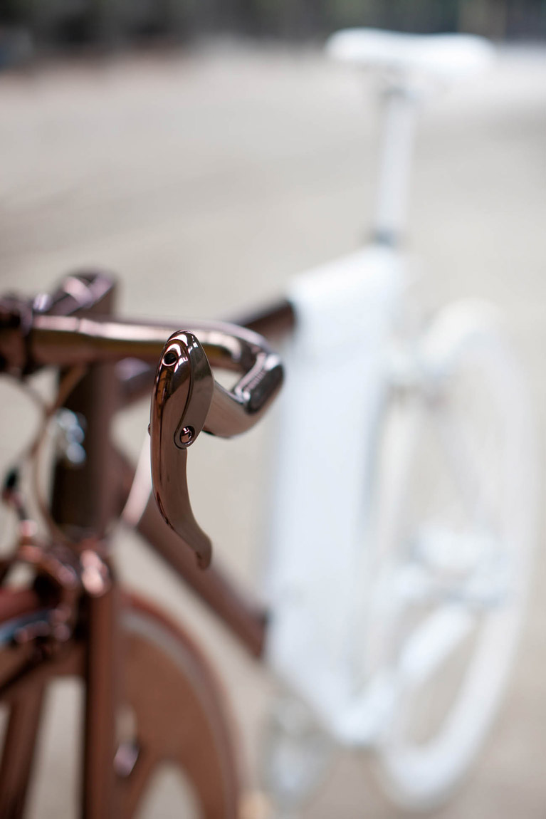 peugeot copper bicycle dl121
