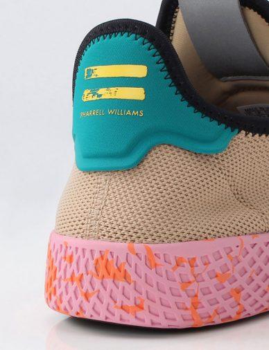 beige pink pharrell wiliams adidas tennis heel