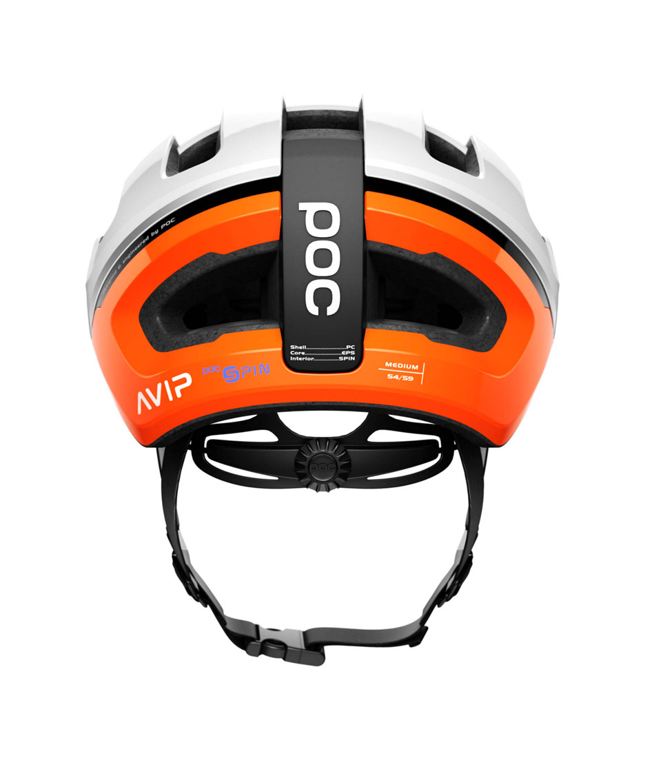 poc omne air spin orange