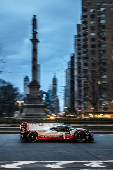 porsche 919 tribute nyc