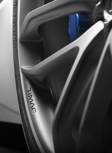 rimac concept one 2017 upgrade