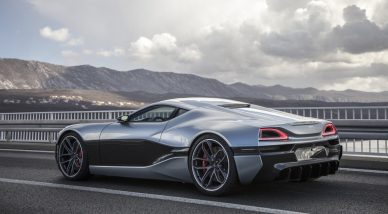 rimac concept one 2017 upgrade