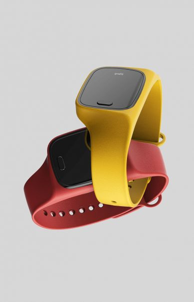 s2victor smart band grafit watch