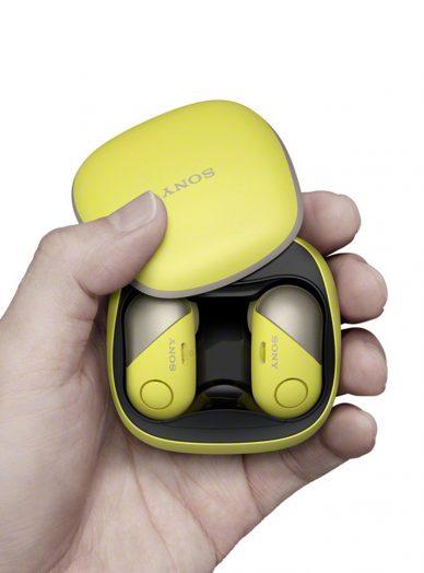 sony new CES headphones wf sp700n