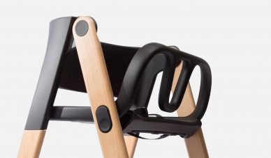 stel design foodie booster foldable high chairs