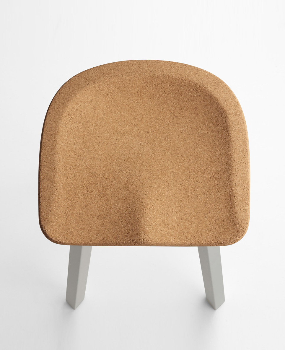 Emeco Su Cork chair by Nendo