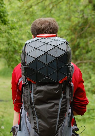 sunup solar backpack