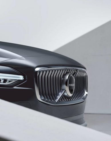 volvo facelifts s90 sedan v90 station wagon with mild hybrid powertrains