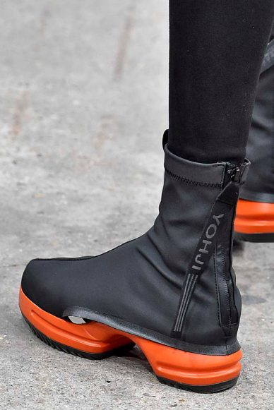 Y3 mens fall 2016 shoe collection